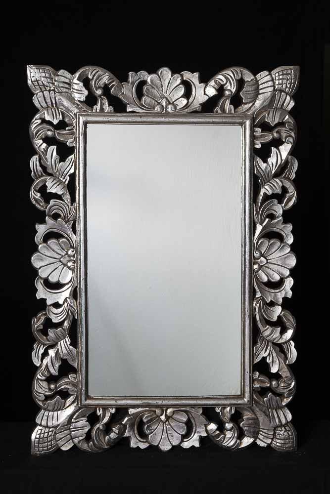 spiegel mit silberrahmen spiegel mit silberrahmen haus. Black Bedroom Furniture Sets. Home Design Ideas